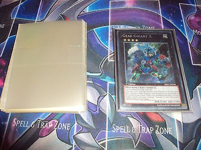 100 Sleeves each fits 40 cards Suitable for Multiple Sleeving Yugioh, Weiss,MTG