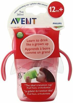 Avent 782 Grown Up Toddler Sippy Cup 260 Ml Green/Red 1pk