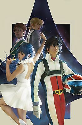 Robotech #1 2017 series. Yesteryear Comics Mercado variant.Limited 500 copies.