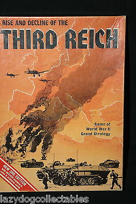 Rise and Decline of the Third Reich Avalon Hill Bookcase Game 3rd edition
