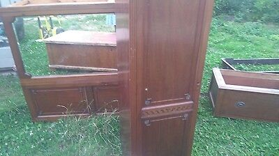 Antique Knockdown Wardrobe Shabby Chic Project