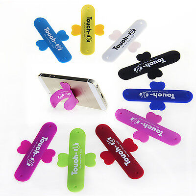 Universal Stick Portable Silicone Stand Mount Holder for iPhone Samsung