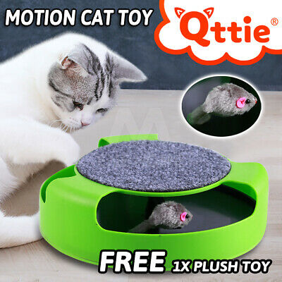 Catch The Mouse Cat Toy Motion Interactive Play Scratchpad Training