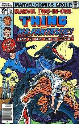 Thing Mr Fantastic Marvel Two In One 36 American Comic