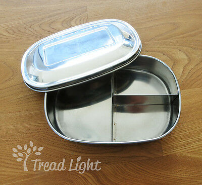 Stainless Steel Metal Eco Friendly Small Lunch Box