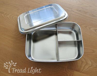 Eco Friendly Stainless Steel Large Bento Lunch Box
