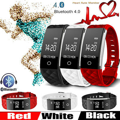 S2 Smart Bracelet GPS Wireless Bluetooth Fitness Tracker with Heart Rate Monitor