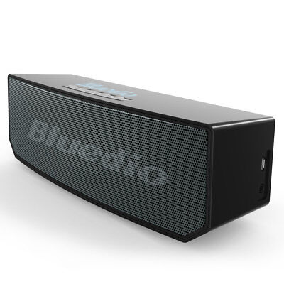 New Bluedio BS-5 Wireless Bluetooth4.1Portable Speaker Bass Rechargeable (Black)