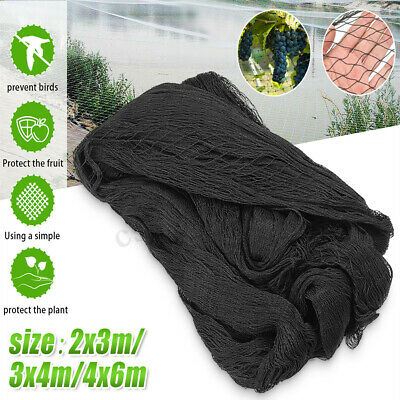2x3m/3x4m/4x6m Garden Fish Pond Pool Cover Net Netting Heron Bird Cat Protection