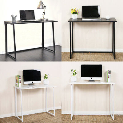 Portable Folding Laptop Computer Desk Home Office Study Work Table Furniture