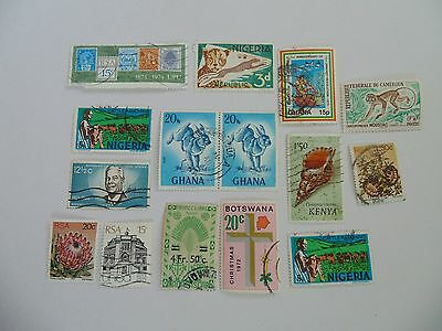 L1606 - Collection Of Mixed Africa Countries Stamps