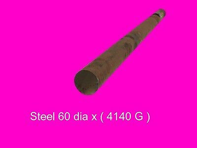 Steel 60 dia x per inch Bar 4140-High Tensile-Lathe