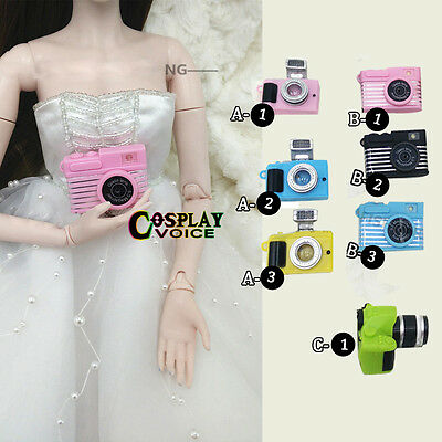 DIY Camera BJD Doll Toys Plastic Camera Dollfie DOD 1/3 1/2 3/4 1/6 Dolls
