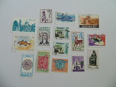 L1611 - Collection Of Mixed Africa Countries Stamps