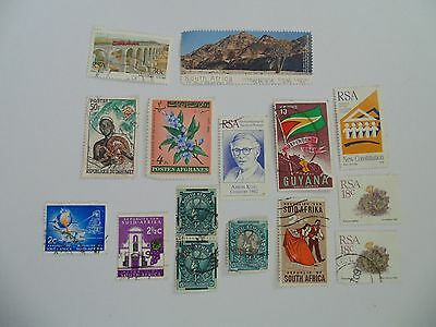 L1613 - Collection Of Mixed Africa Countries Stamps