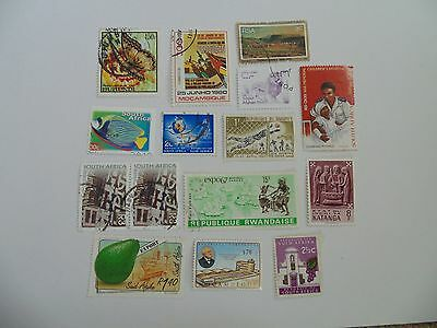 L1614 - Collection Of Mixed Africa Countries Stamps