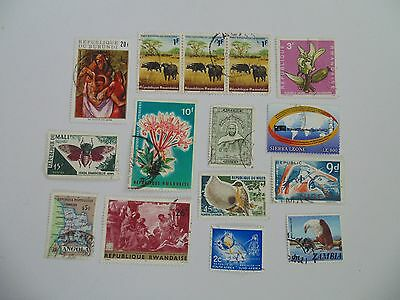 L1615 - Collection Of Mixed Africa Countries Stamps