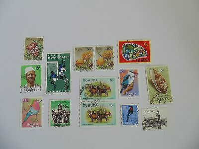 L1618 - Collection Of Mixed Africa Countries Stamps