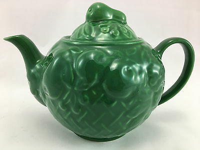 Wade - Green Fruit Basket Tea Pot - Circa 1950's