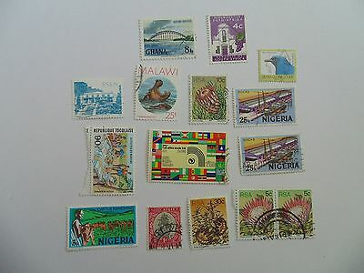 L1624 - Collection Of Mixed Africa Countries Stamps