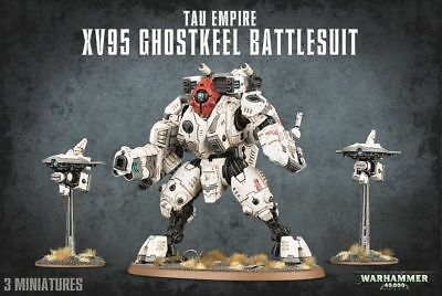 Tau Empire XV95 Ghostkeel Battlesuit Warhammer 40.000 Games Workshop Tau Empire
