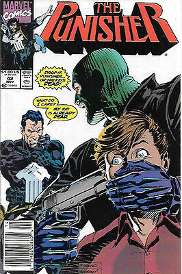 The Punisher #42 (1990; vf 8.0) fault free