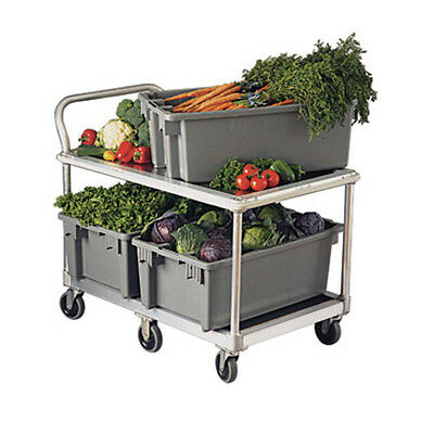 New Age 1410 Mobile Wet Produce Cart W/ 1000 lb Capacity