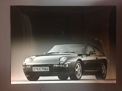 """1991 / 1992 Porsche 968 Coupe Factory issued Press Photo """"Werkfoto"""" RARE Awesome"""