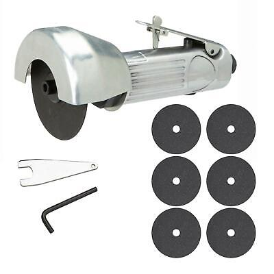 """75mm 3"""" Inch Air Cut Off Tool Grinder Cutter Safety Trigger 1 Discs 3Y Guarantee"""