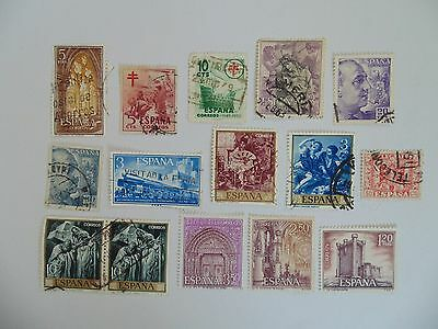 L1631 - Collection Of Mixed Spain Stamps