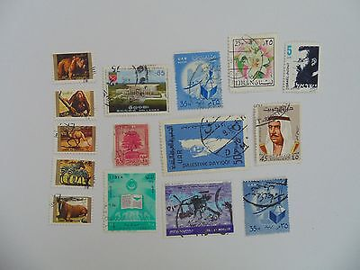 L1651 - Collection Of Mixed Middle East Stamps
