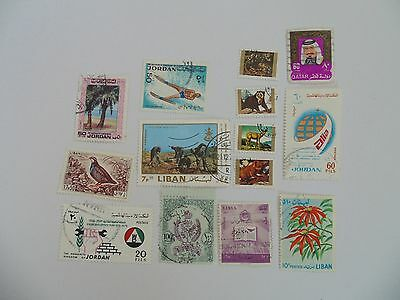 L1653 - Collection Of Mixed Middle East Stamps