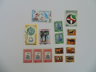 L1654 - Collection Of Mixed Middle East Stamps