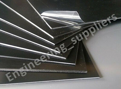 A3, 3mm THICK SINGLE & 3, 5 & 10 PACKS BLACK POLYSTYRENE PLASTIC HIPS SHEET