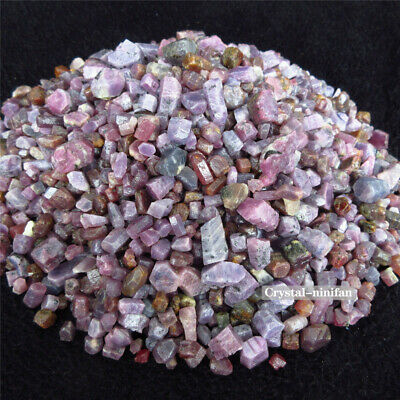 100g Natural Tumbled Ruby Rough Crystal Gemstones Bulk Stone Raw Untreated Red