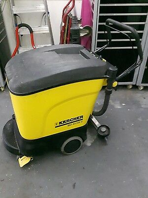 karcher floor scrubber bd40/25c mint working order polisher look