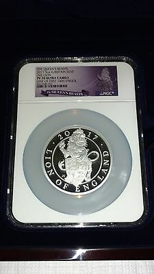 Queen's Beast 5 oz Lion NGC 70 Graded. Perfect.