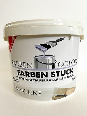 Stucco In Pasta Kg.20 Per Rasatura Interno Super Finish Bianco Tp Knauf Q2 Q3 Q4