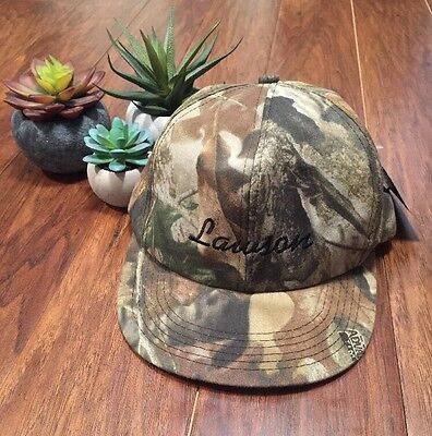 Camo Hat Snap Back Advantage Timber Brand NWT Lawson Embroidered Ducks Unlimited