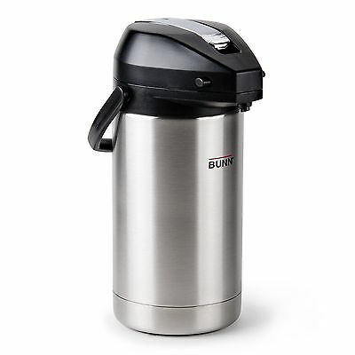 Bunn Stailess steel 3.8 L Airpot 36725.0000 lever action coffee pot