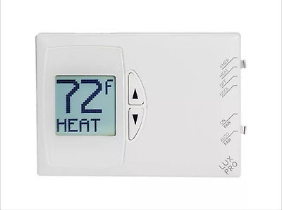 LuxPro Digital Non-Programmable Thermostat - PSD111-Excellent-Ships Same Day