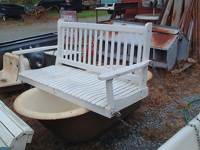 Antique, Vintage Original Porch Swing, Shabby Look, Complete, from Appalachias