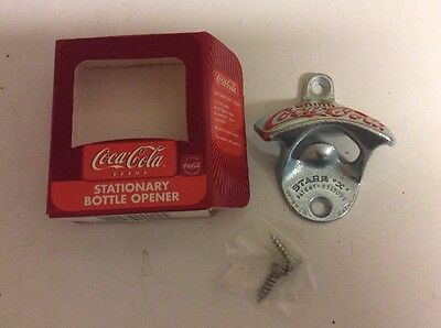 STARR X   COCA COLA WALL MOUNT BOTTLE OPENER New in Box made in Germany