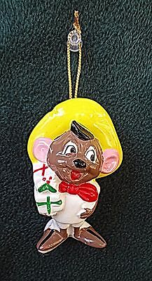 LOONEY TUNES SPEEDY GONZALES  CHRISTMAS ORNAMENT 1978 Dave Grossman Warner Bros
