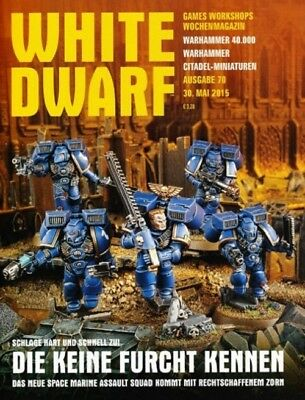White Dwarf 70 May 2015 (German) by the 30 May 2015 Games Workshop