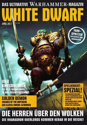 White Dwarf 8 April 2017 (German) Games Workshop Kharadron Overlords Shadow War