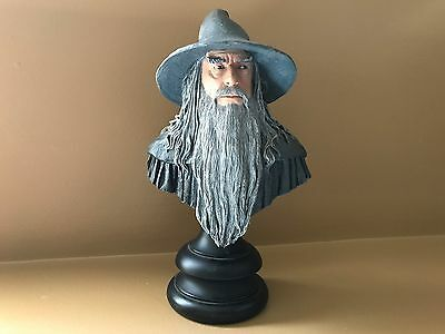 GANDALF THE GREY 1/4 scale Bust Polystone Statue Lord of the Ring