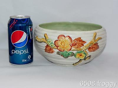 VINTAGE **CLARICE CLIFF** Hand Painted *My Garden* Large Bowl - Excellent!