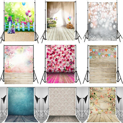 9 Types 3x5FT Baby Vinyl Photography Backdrop Photo Background Studio Props New