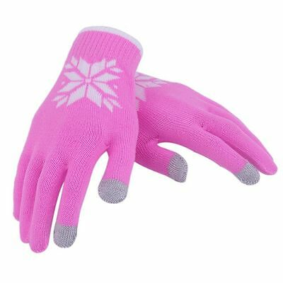Touch Screen Gloves Women/Men Knitted Wool Hand Wrist Warmer Fingerless Winter S